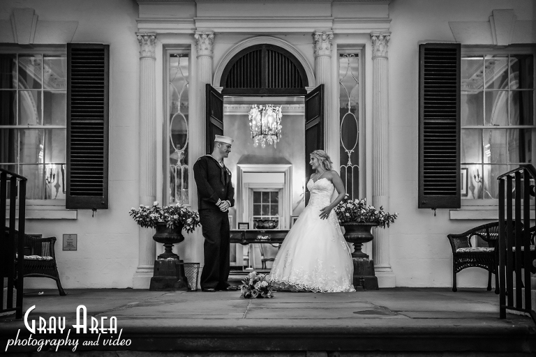 wedding photographer at Oatlands Plantation